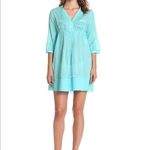 Lilly Pulitzer Alfa Three-Quarter Sleeve Cover-Up